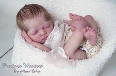 Precious Wonders -Reborn Baby girl PROTOTYPE Yona by Christa Götzen IIORA member #AlexaCalvo