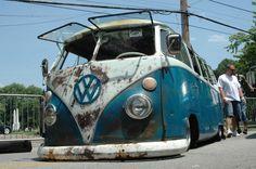 Volkswagen T1 Bus /// facebook.com/RustedNotDead ///