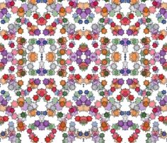 Set in Stones fabric by indigo_level on Spoonflower - custom fabric