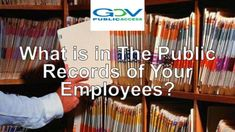 Wondering what's in the public record of your employee? Perform a background check before it's too late. #backgroundCheck