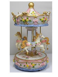 images of minature music boxes | Musical Carousels & Miniature Carousels From The Music Box Shop
