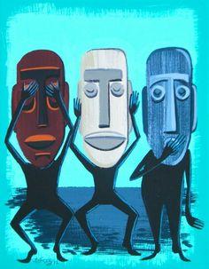 eBay: New El Gato Gomez Paintings on Ebay -- Tiki Central
