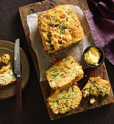 Feta and vegetable loaf