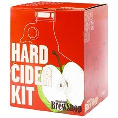 Brew artisanal Hard Cider at home with this handy kit from the folks at Brooklyn Brew Shop.  (chapters.indigo.ca)