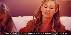 And that sometimes it's easier to go backwards. | 25 Times Lauren Conrad Taught Us All We Need To Know About Life