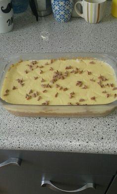 Vanillepudding taart