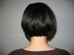 Angled Bob Hairstyle From Back | Short Bob 2