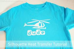How to use #Silhouette Heat Transfer