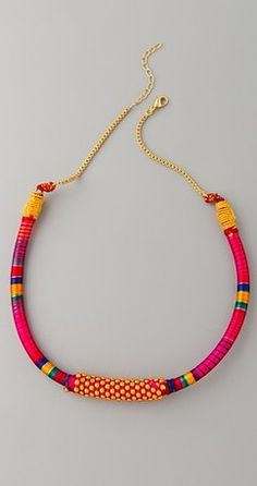 TRIBAL WRAPPED NECKLACE