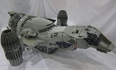 The Coolest Things Ever Made Out of LEGOs. You MUST see the Serenity! They did the interior, you guys! With Wash!