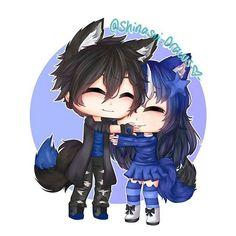 Kawaii Drawings, Cartoon Drawings, Cute Drawings, Anime Wolf Girl, Anime Art Girl, Anime Oc, Anime Chibi, Kitten Drawing, Anime Drawing Styles