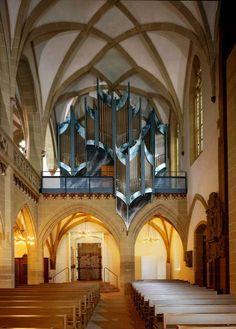 Vleugels Orgelbau; Kitzingen, Germany; 2007, III/54