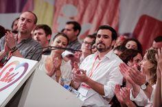 Garzón rechaza la independencia catalana y llama a trabajar por una República Federal