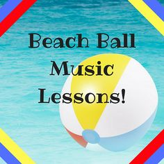Splash into summer with these beach ball music lesson ideas! Easy and fun to use at home or in the classroom!