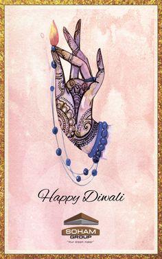 Wish you a very happy diwali. #diwali #happydiwali #wish #card #picture #artoftheday #wishoftheday #today #awesome #greetings #india #realestate #happy #new #makemebrand #marketing #socialmedia #creative #facebook #design #instagram #surat #india #branding
