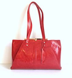 Leather tote bag women clutch tote wristlet by KishaDesigns, $299.00