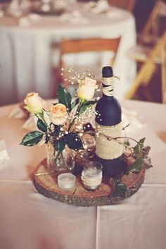 Rustic Wedding A rustic resource of fab wedding pointers for a really rustic rustic chic wedding decorations diy Posted 7582544586 shared on 20181216 Round Table Centerpieces, Black Centerpieces, Rustic Wedding Centerpieces, Wedding Table Centerpieces, Wedding Decorations, Wedding Ideas, Chic Wedding, Trendy Wedding, Centerpiece Flowers