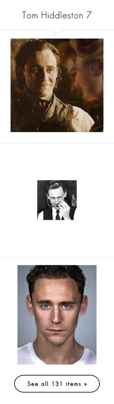 """""""Tom Hiddleston 7"""" by morningstar1399 ❤ liked on Polyvore featuring marvel, tom hiddleston, men, people, pictures, backgrounds, actors, hiddles, home and home decor"""