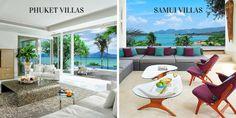 How Different are the Villas in Phuket & Villas in Koh Samui #samui #phuket #travelplanning #villa #luxuryvilla #luxuryrental