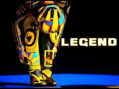 Valentino Rossi -- THE LEGEND - YouTube
