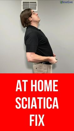 Dr. Rowe shows how to get rid of sciatica pain at home using NO EQUIPMENT! If you're dealing with sciatica pain at home and need a quick fix, here's a set of SAFE and effective sciatic nerve pain relief stretches and exercises that can give quick relief in as little as 30 SECONDS! They are going to be shown in different positions (such as standing or seated), and focus on relieving tension and pressure off the sciatic nerve. WATCH NOW and get rid of sciatica pain at home! Sciatic Nerve Exercises, Lower Back Pain Exercises, Knee Strengthening Exercises, Sciatica Stretches, Sciatica Pain Relief, Sciatic Pain, Muscle Pain Relief, Pelvis Stretching, Mudras
