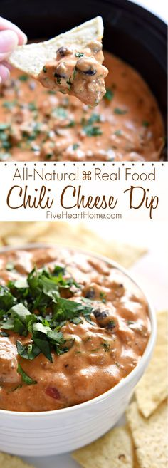 Chili Cheese Dip (with All-Natural, Real Food Ingredients) FoodBlogs.com
