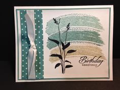 Work of Art, World of Dreams, Stampin' Up!, Rubber Stamping, Handmade Cards