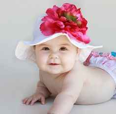 7da0c904cb4 Babies Who Brunch Baby Sun Hat  Melondipity Toddler Headbands