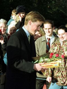 Prince William: 1996 - Prince William's life in pics Prince William And Harry, William Kate, Prince Charles, Prince Harry, Kate And Harry, Diana Williams, Royal Christmas, Pictures Of Prince, Young Prince