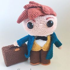 Meet The new pattern from sweetypie design!! Newt scamander is here to steal your hearts