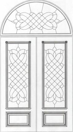 Victorian Door Design DD1025
