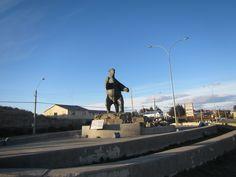 Ingreso a la Ciudad de Puerto Natales. XII Región de Magallanes. Chile.