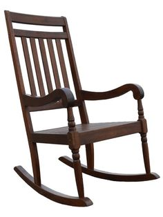This Classic Rawley Rocker is made from Solid Acacia Wood. Protected by a weatherproof black finish, this chair will last longer than most. Japanese Woodworking, Fine Woodworking, Woodworking Projects, Wooden Rocking Chairs, Outdoor Rocking Chairs, Dining Furniture, Furniture Design, Acacia Wood, Classic