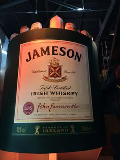 Jameson Distillery, Dublin, Republic of Ireland