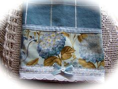 French Blue cottage kitchen towel. | Flickr - Photo Sharing!