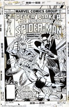 Dave Cockrum and Joe Rubinstein - Original Cover Art to The Spectacular Spider-Man #22 (Marvel, 1978)
