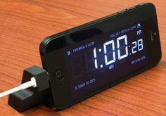 Bloki-i5 propping an iPhone 5 on a nightstand