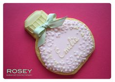 Perfume Bottle Cookie