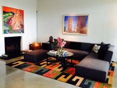 Modern Living Room, Los Angeles Hills