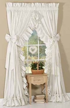 Welcome to Straw and Feathers -- Your source for ruffled curtains ... - ruffled country curtains pictures