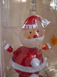 Wiggle Santa Nightlight by Dept 56 NEW in Box 2008 Cute Novelty