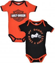 Harley Davidson Baby Clothes Harleydavidson® Gender Neutral Boxed White Booties 03M  Harley