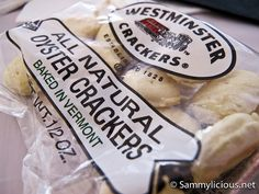 Westminister Crackers: All Natural Oyster Crackers (Boston, USA) by littleladylove, via Flickr