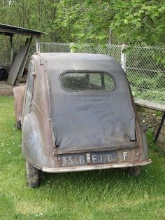 2CV AZ 1955. Manx, Pigeon Watch, Peugeot, Alfa Gtv, Automobile, 2cv6, Porsche 964, Old Classic Cars, Barn Finds