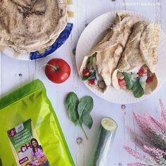 Éhezésmentes karcsúság Szafival - Gluténmentes paleo tortilla Fresh Rolls, Tacos, Paleo, Mexican, Ethnic Recipes, Food, Essen, Beach Wrap, Meals