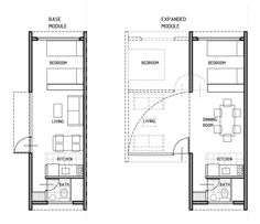 4L arq improves social housing with transportable modules/ argentina