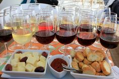 Do an 18-Wine Flight Tasting in Santorini, Greece