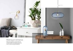 Ideas for your rooms - Nordic pendants. Ideas for your rooms - House Doctor, Creative Lamps, Creative Lights, Bad Set, Milford Sound, Garden Styles, Modern, Colours, Pendants