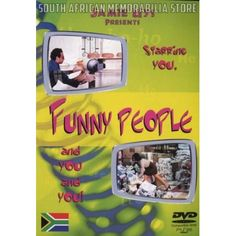 Jamie Uys - Funny People 1 - South African Classic Comedy DVD *New* - South African Memorabilia Store