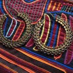 Gypsy earrings Big gypsy earrings ❤️ Iyari corazon Jewelry Earrings